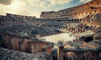 Koloseum bude mít vysouvací podlahu