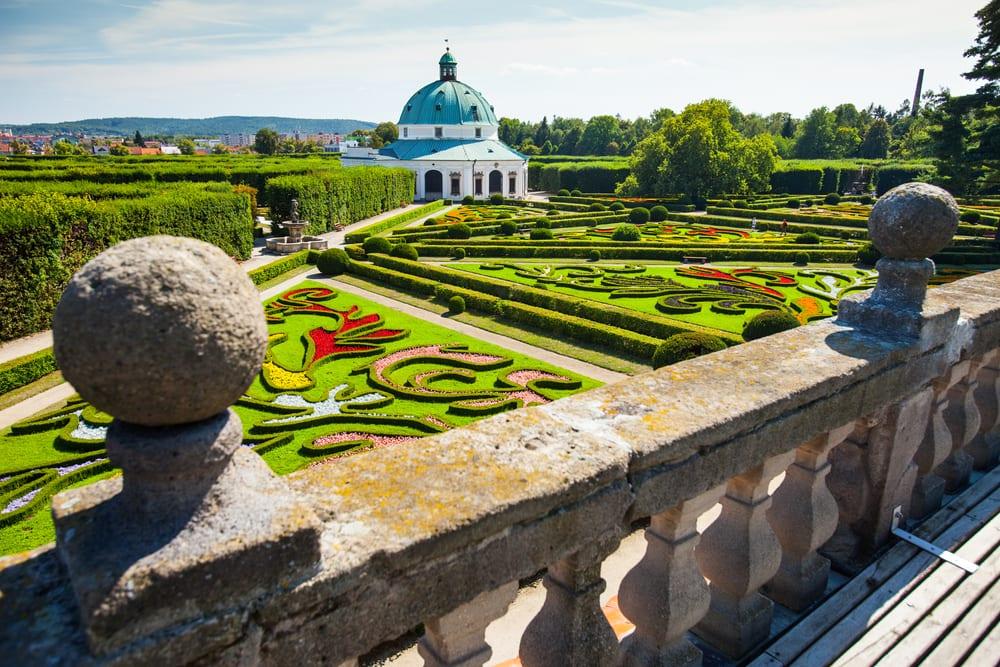 Kroměříž, květná zahrada,Památky Unesco