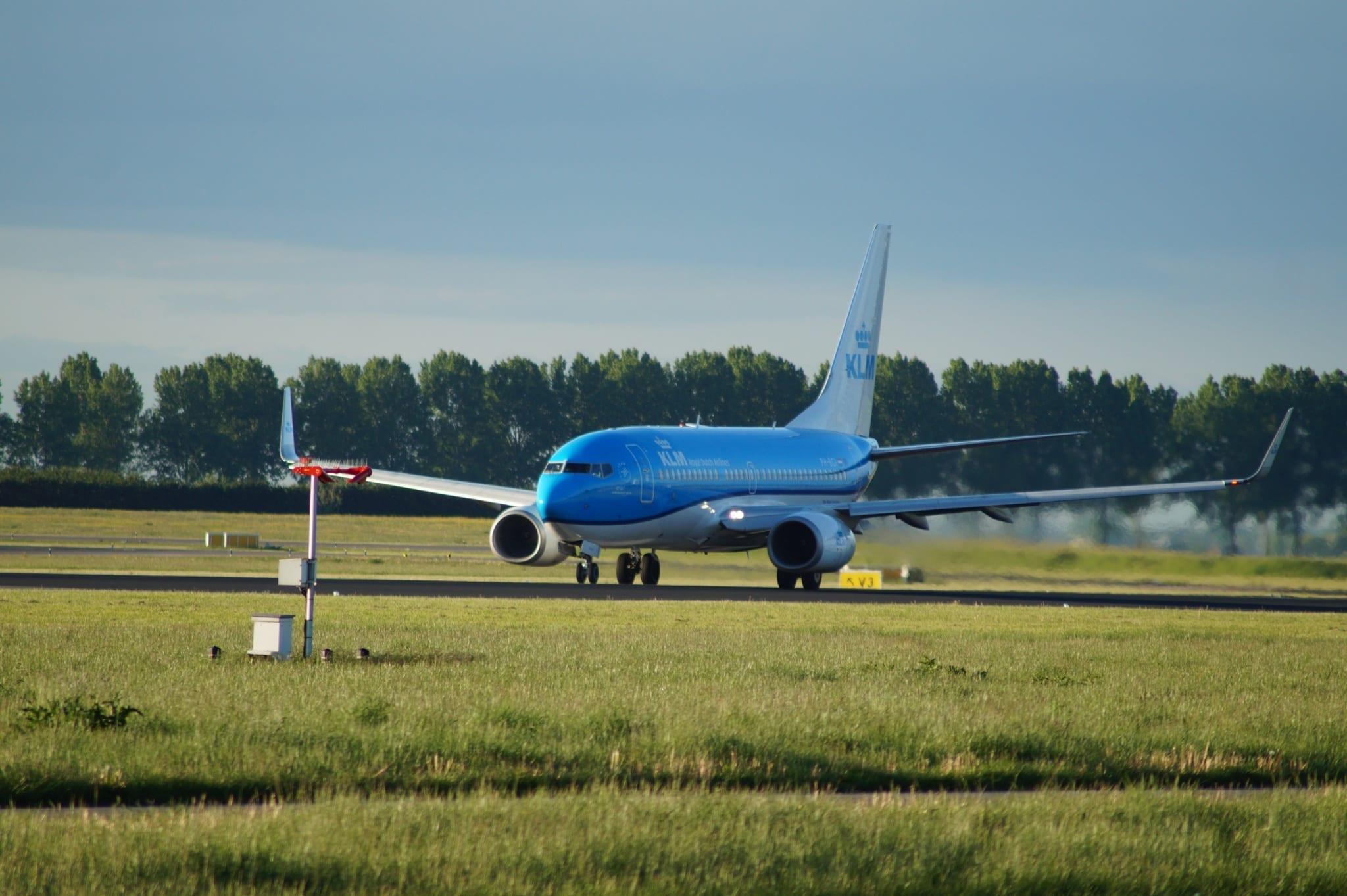KLM lety