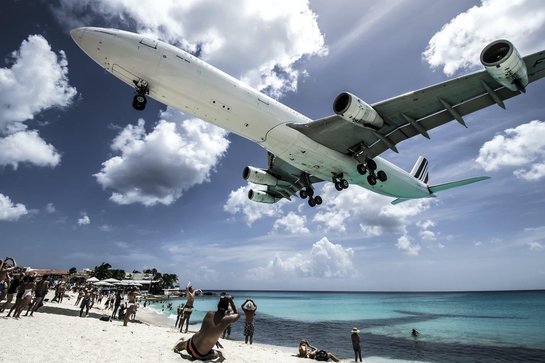 Letadlo nad pláží, obnovení a přidání letů