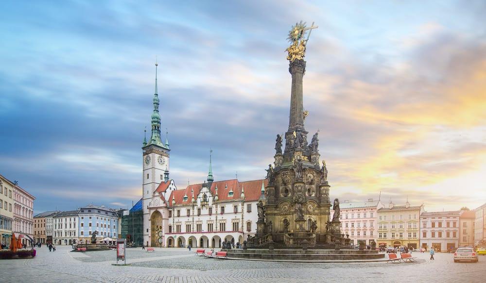 Olomouc, Horní náměstí, památky Unesco