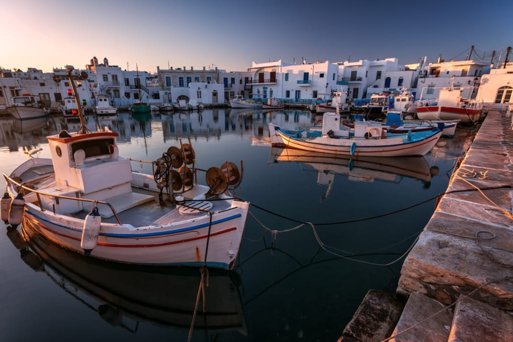 Paros v Řecku