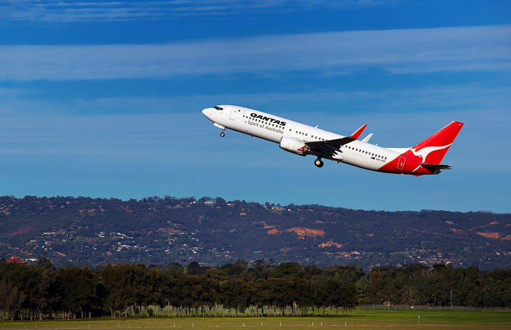 Letadlo Qantas Airlines