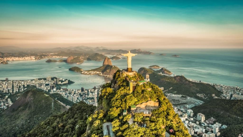 Ježíšova socha v Rio de Janeiro