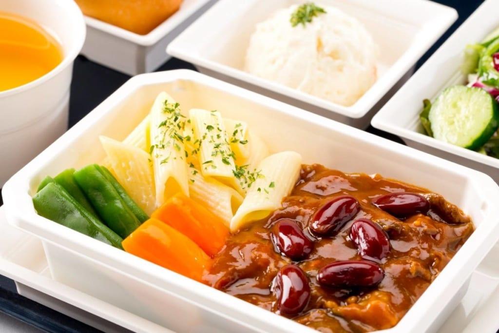ANA, jídlo na palubě