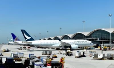 Cathay Pacific letadla