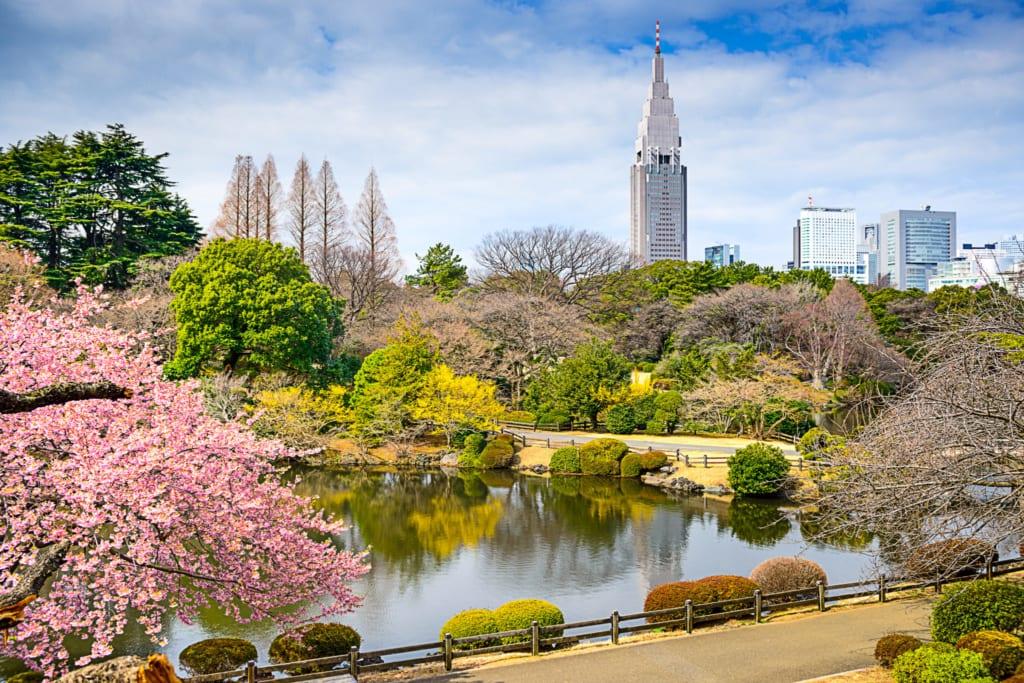 Květná zahrada v Tokiu