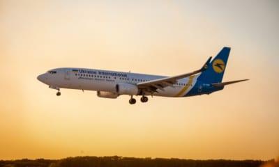 Ukrainian international airlines