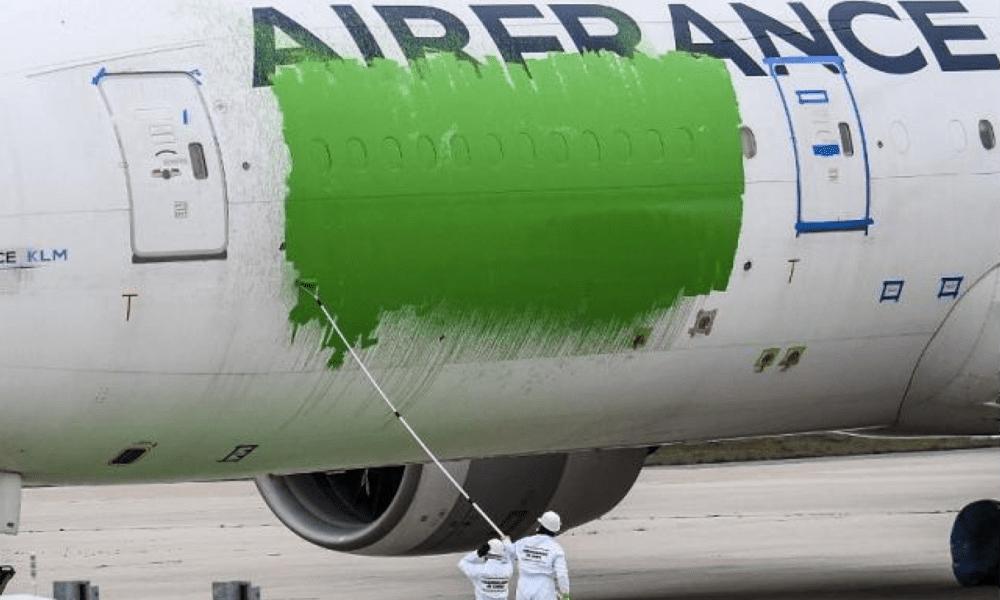 Air France, zelená brava