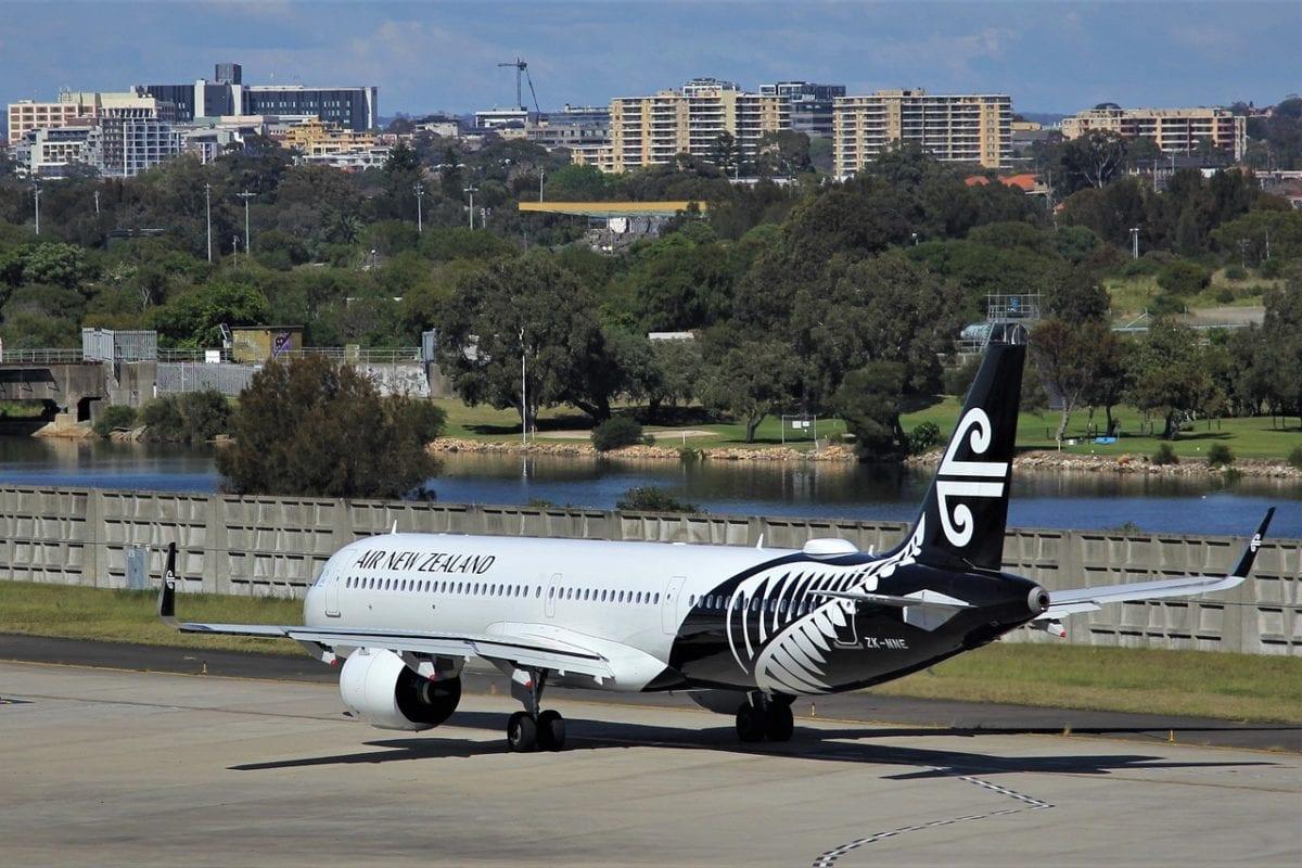Air New Zealand letadlo