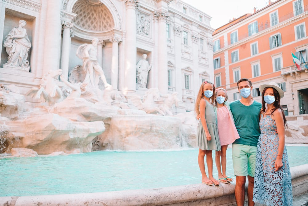 Cesotvání za pandemie, Itálie