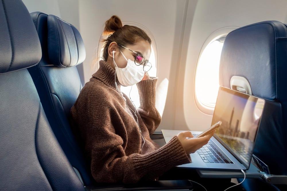 Hepafiltr v letadle, cestování za pandemie