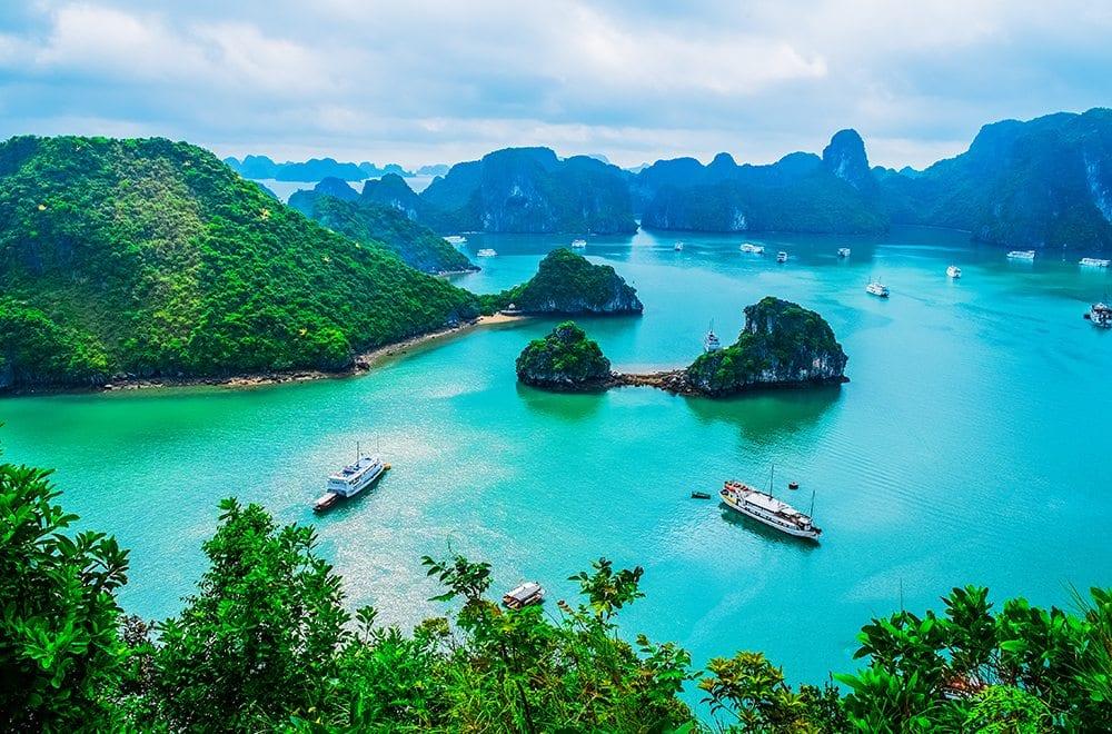 Vietnam otevření
