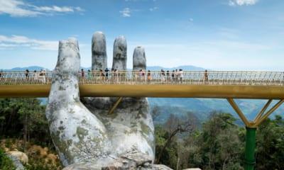 Vietnam, Nové divy světa, golden bridge