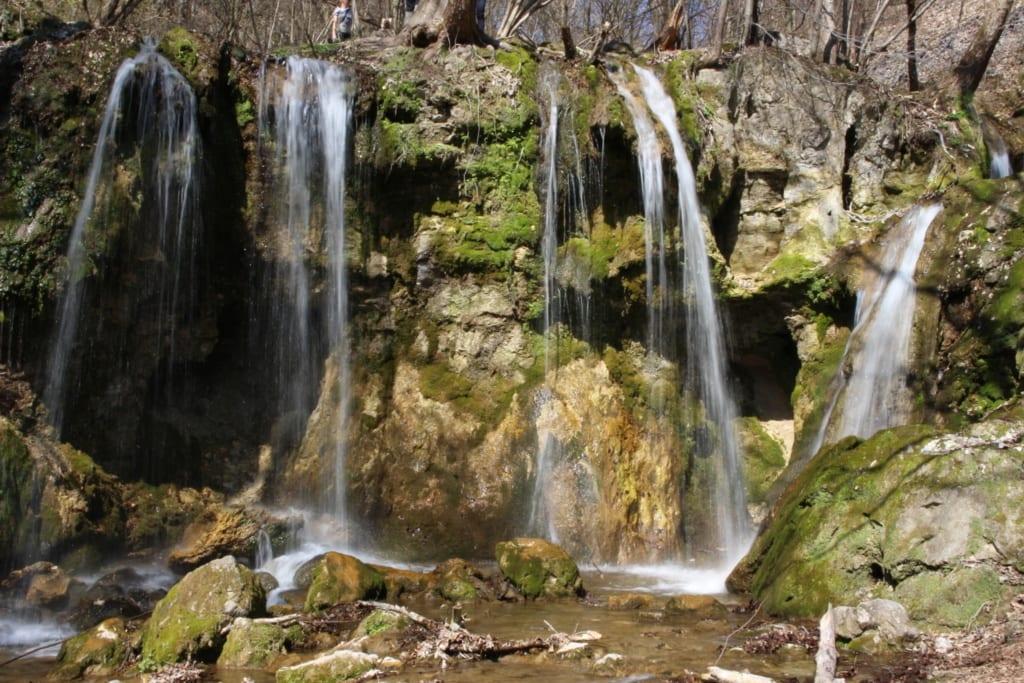 Slovensko, Slovenské vodopády, Hájske vodopády