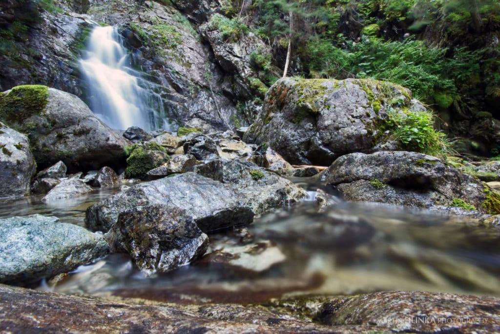 Kmeťov vodopád, Slovensko, Slovenské vodopády