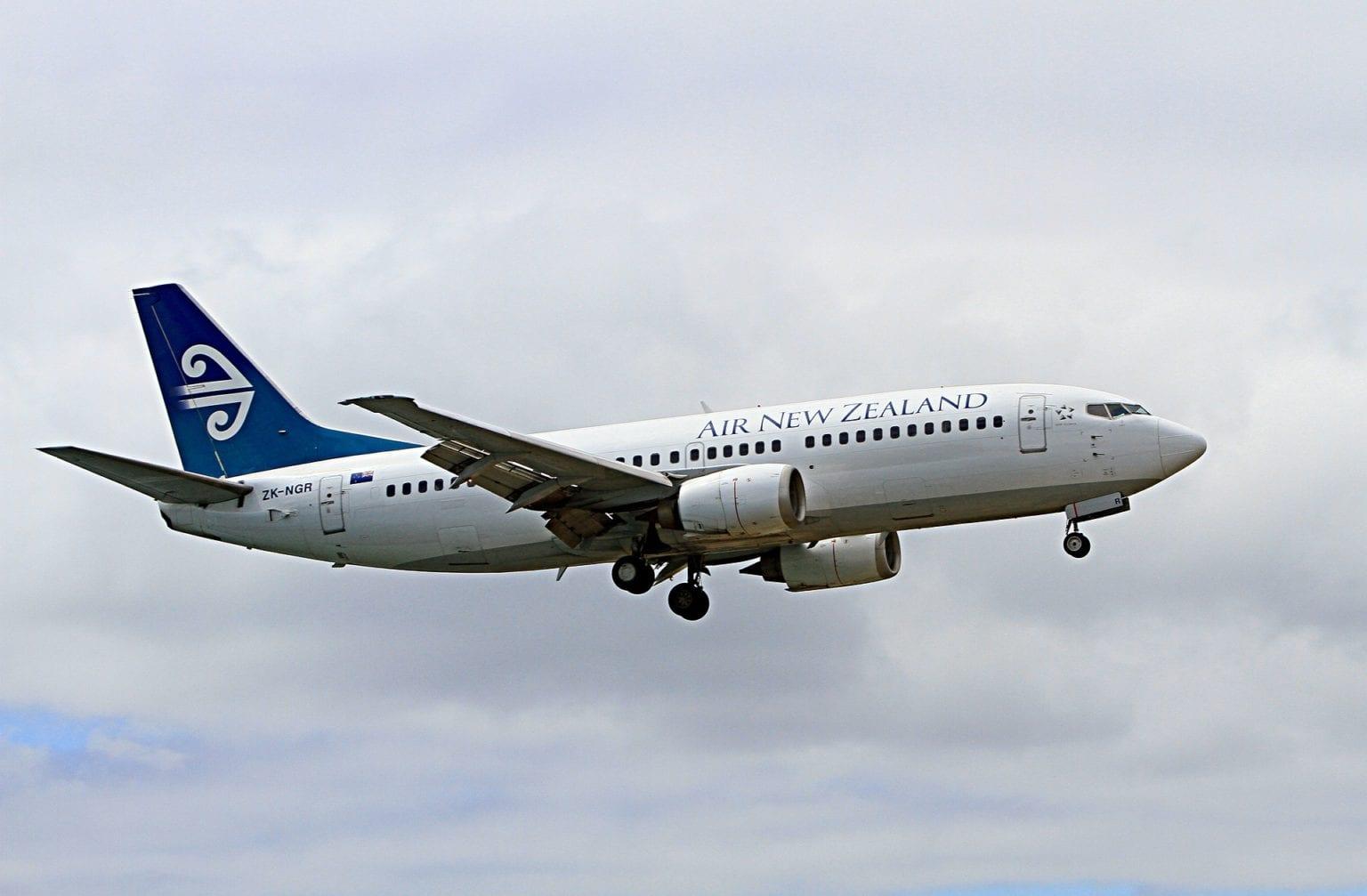Letadlo Air New Zealand