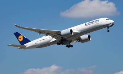 Lufthansa letadlo