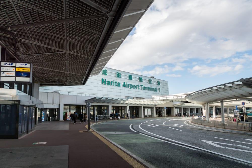 Letiště Narita Tokio, Japonsko