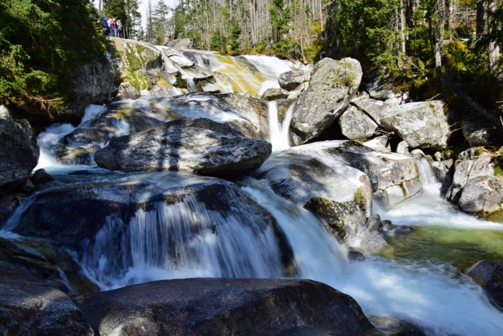Vodopády studeného potoka, Slovensko, Slovenské vodopády
