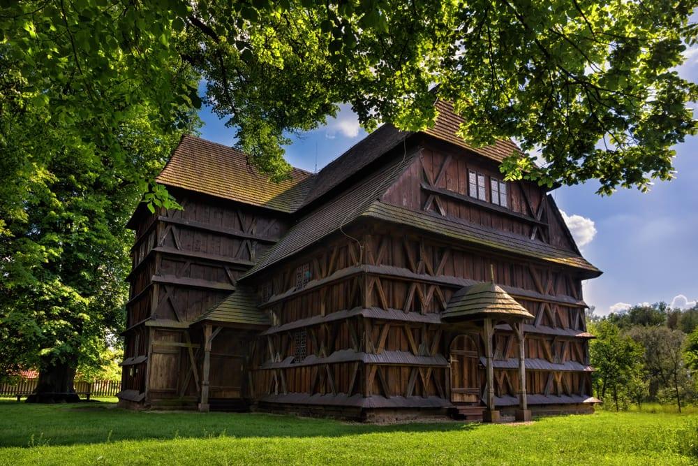 Unesco, Slovensko, dřevěné kostely
