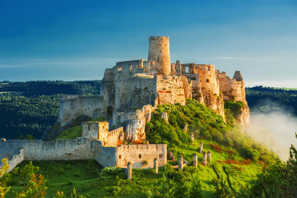 Unesco, Slovensko - Levoča, Spišský hrad