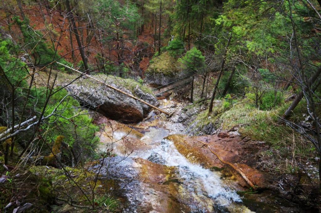 Závojový vodopád na Slovensku, Slovensko, Slovenské vodopády