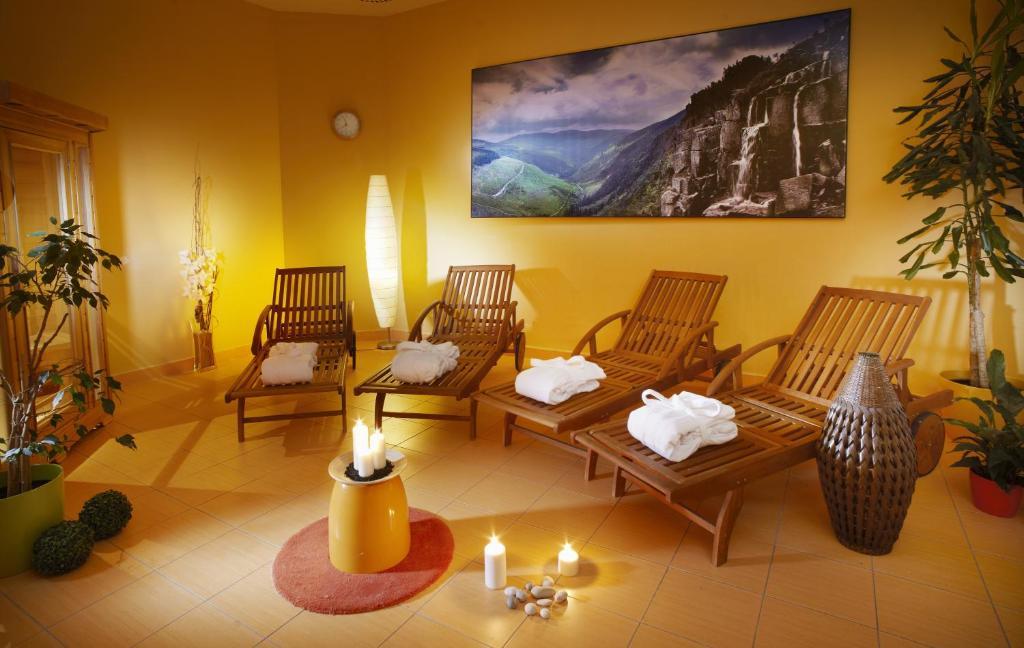 wellness v 4* hotelu Clarion ve Špindlerově mlýně v Krkonoších