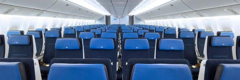 Paluba letadla KLM