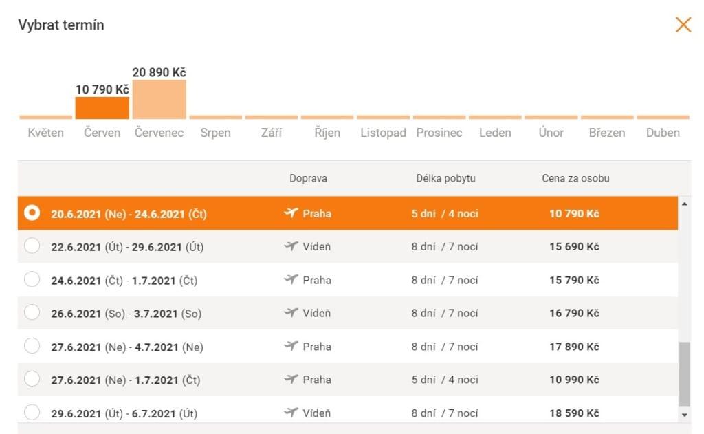 Akční termín dovolené na Kypru, hotel Stamania