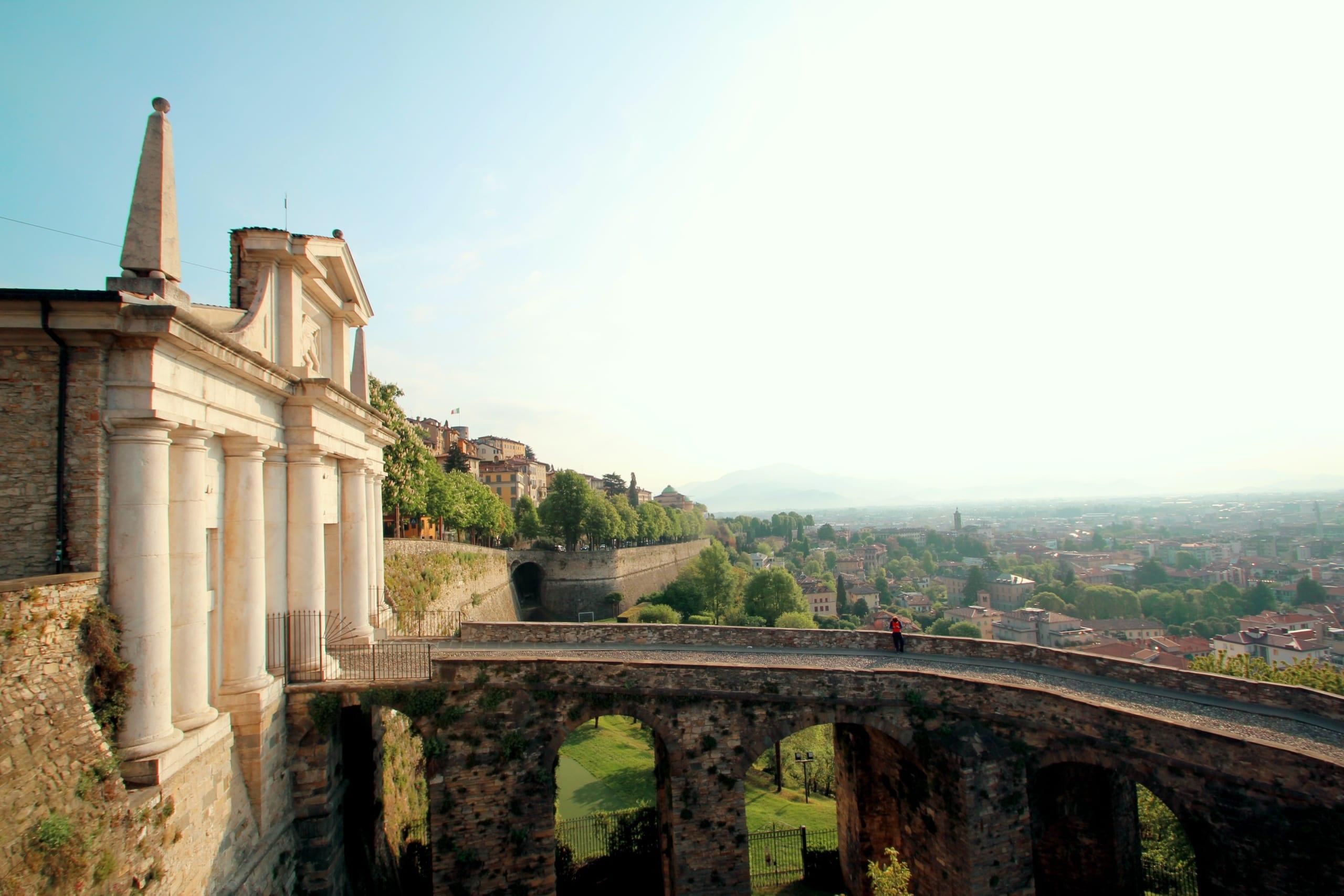 Itálie, bergamo