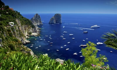 Capri v Itálii