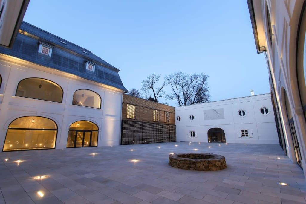 Dovolená na zámku Gbeľany na Slovensku, pobyt