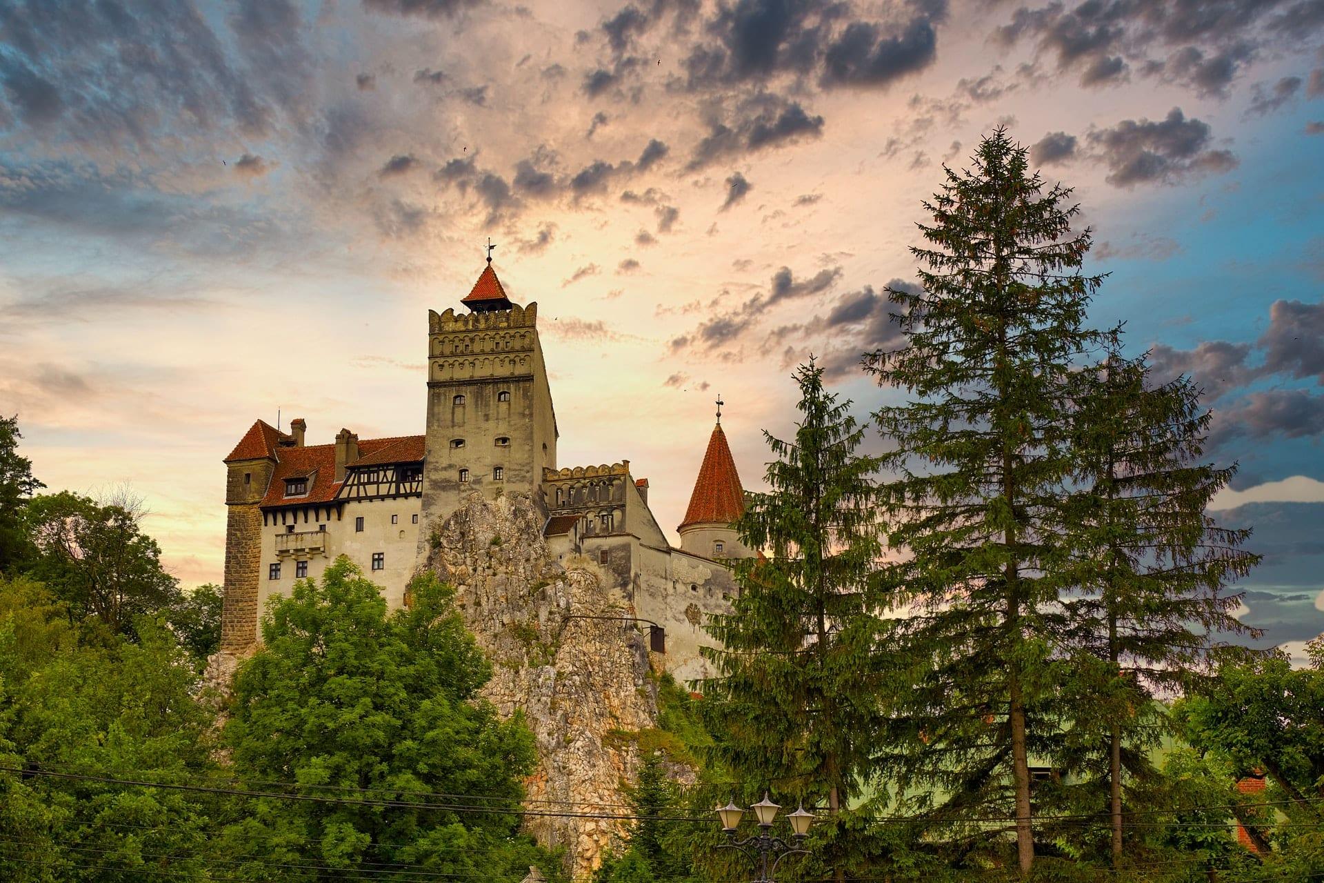 Hrad Bran v Rumunsku