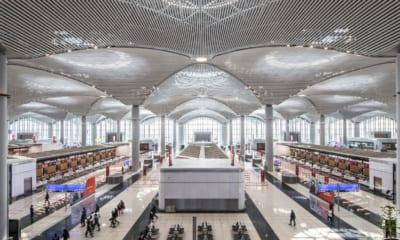 Istanbul letiště nová hala