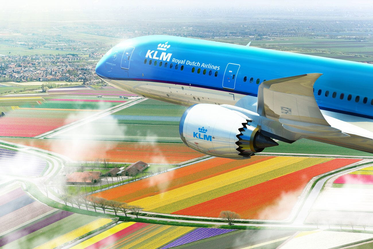 Letadlo KLM Dreamliner