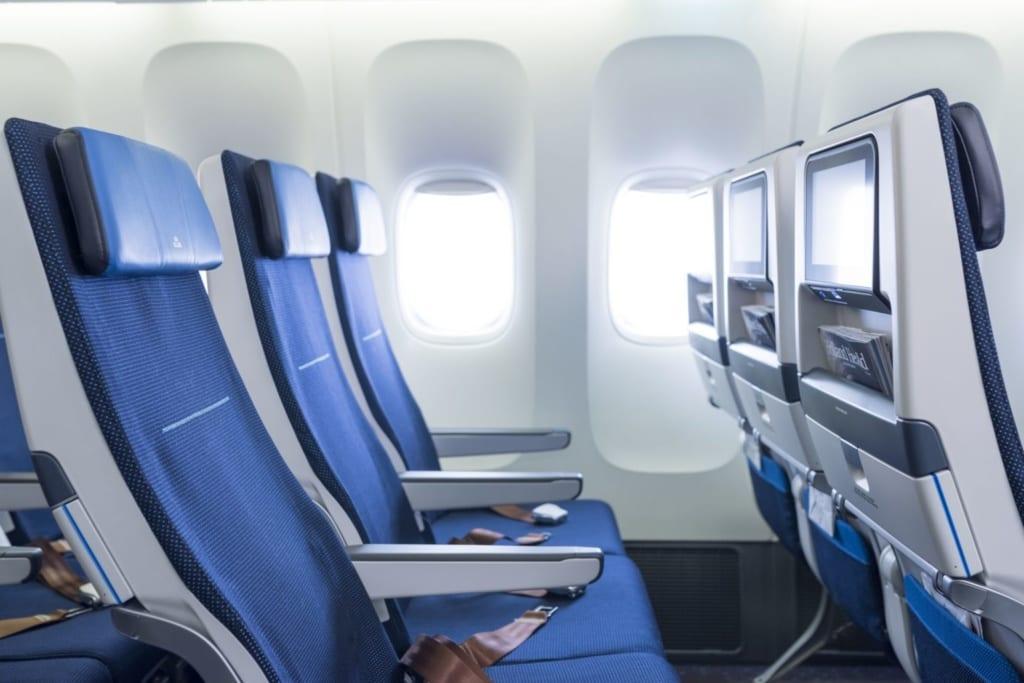 KLM sedadla