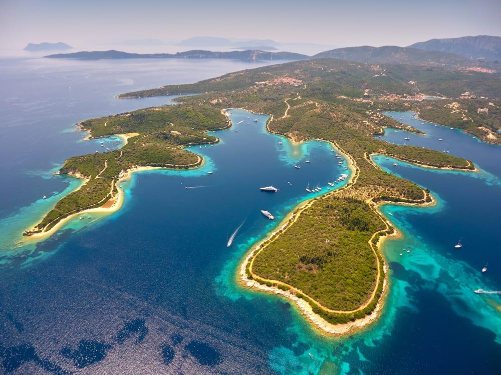Řecko - Meganisi