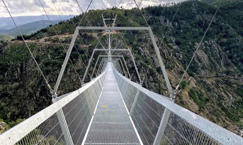 Most pro pěší Portgalsko