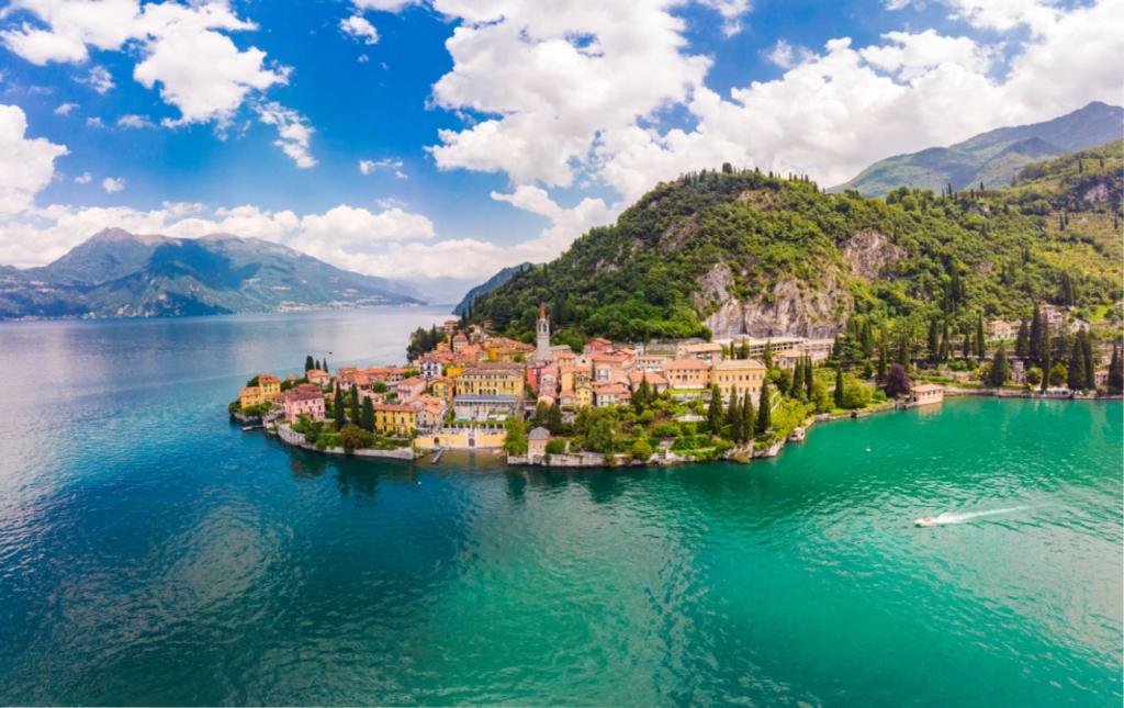 Jezero Como, Itálie