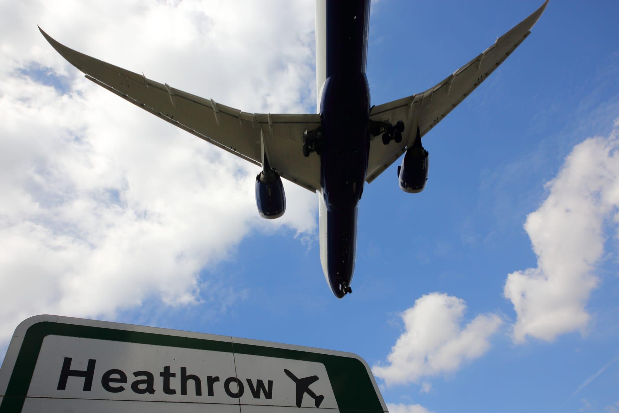 Letiště Heathrow v Londýně