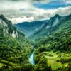 Řeka Tara, Černá Hora