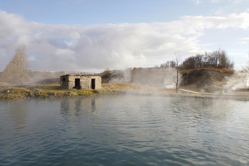 Tajná laguna, Island