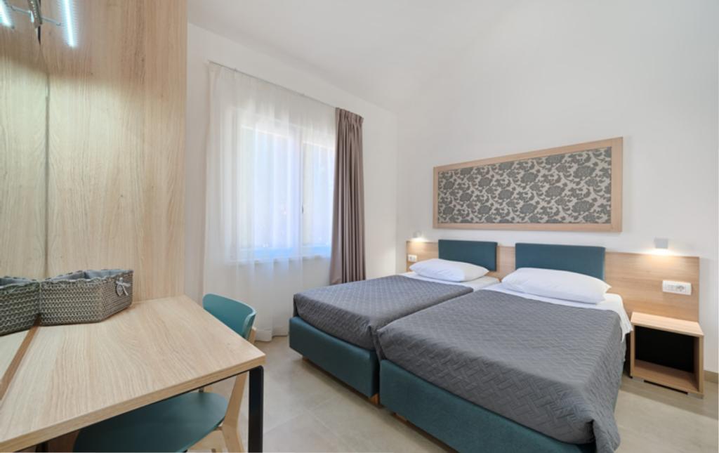 Dovolená, Hotel only, v apartmánech typu Superior, Aparntemts Medena, Trogir, Chorvatsko, Ložnice