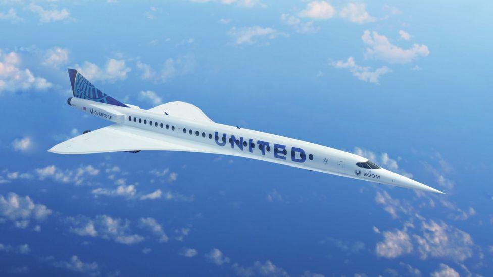 Nadzvukové letadlo United Airlines
