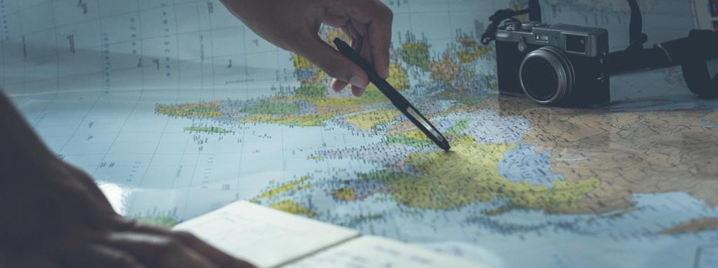 Mapa cestování