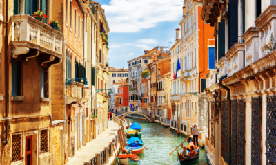 Itálie. Benátky