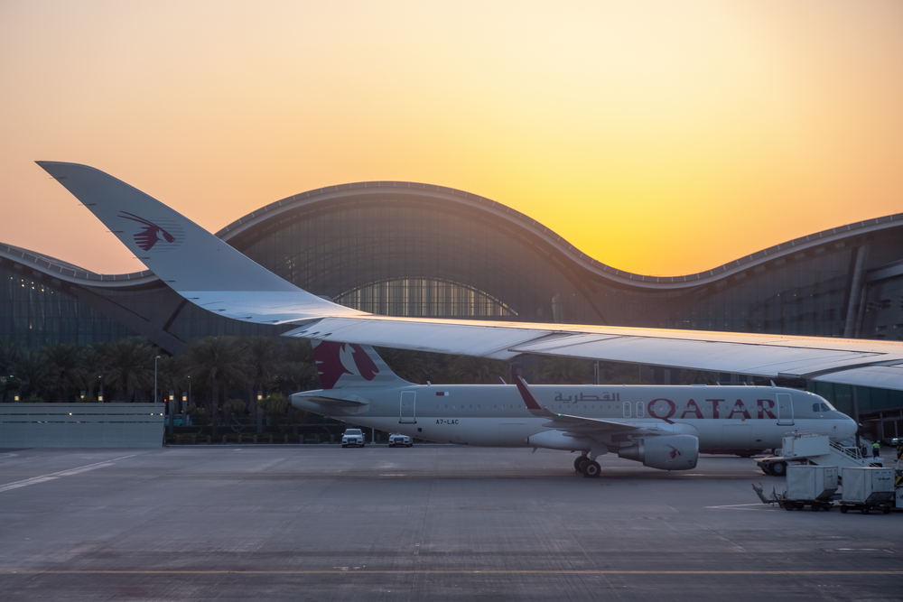 Letiště Dauhá, Spojené arabské emiráty