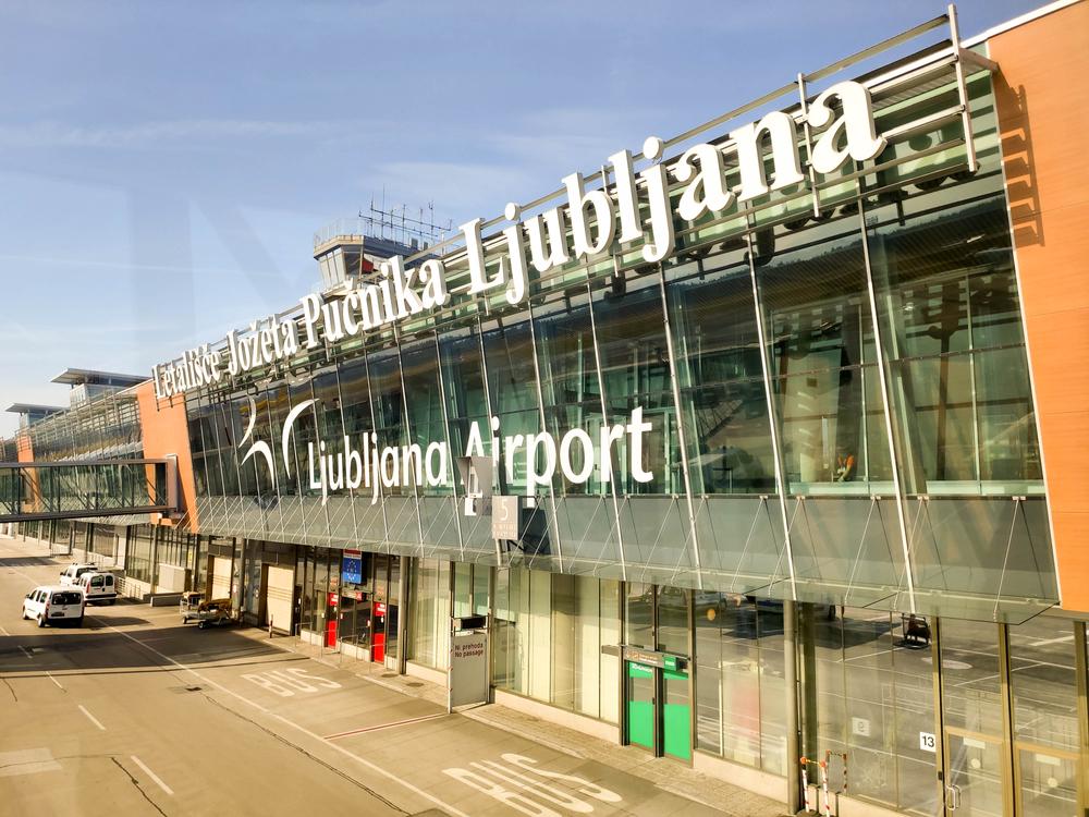 Lublaň, Letiště Slovinsko