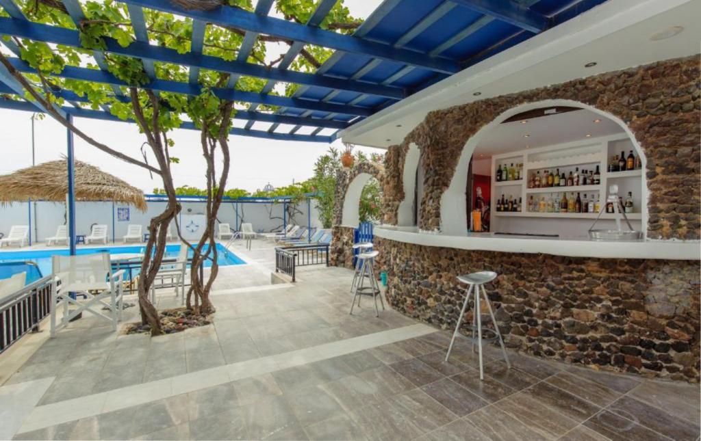 Dovolená v Řecku u moře, Santorini, hotel Rivari